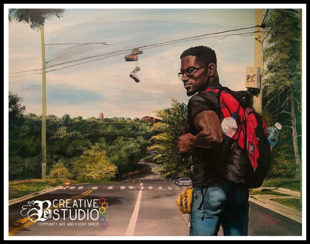Acrylic Oil Painting 32 x 40